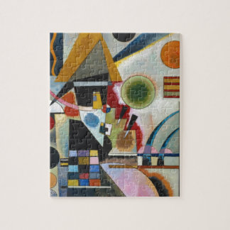Balanceo abstracto de la pintura de Kandinsky Puzzle Con Fotos