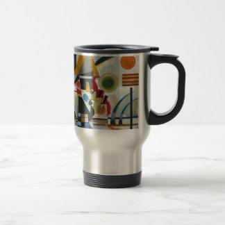 Balanceo abstracto de la pintura de Kandinsky Taza De Viaje De Acero Inoxidable