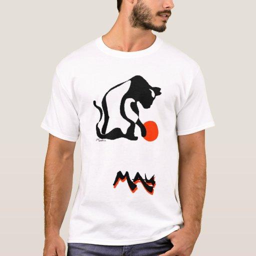 Balanceo del gato de Mau Playera