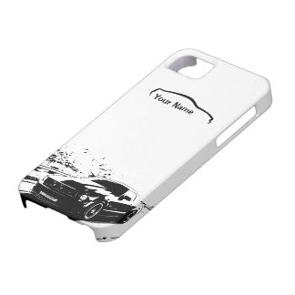 """Balanceo del mustango tirado - """"añada su propio iPhone 5 Case-Mate funda"""
