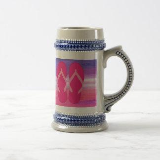 Balanceos rosados jarra de cerveza