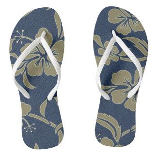 ¡Balanceos tropicales del hibisco azul -
