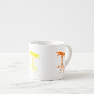 Balancing a Living Donkey 6oz Espresso Cup Mug