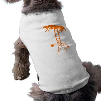 Balancing a Living Donkey ~ Dog Apparel / Tank Top