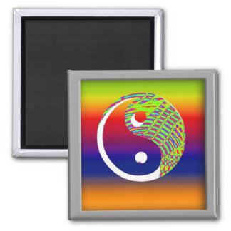 balancing act 2 inch square magnet