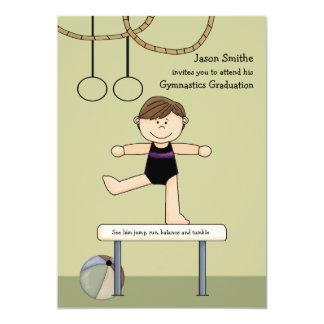 Balancing Act Gymnastics Graduation Invitation