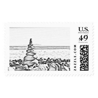 Balancing Act Stamp