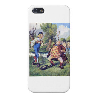 Balancing an Eel in Wonderland Cover For iPhone SE/5/5s