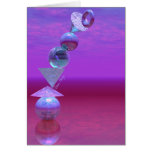 Balancing - Fuchsia and Violet Equilibrium Cards