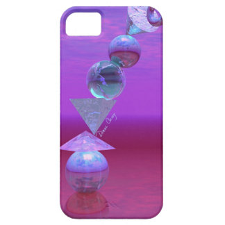 Balancing - Fuchsia and Violet Equilibrium iPhone 5 Case