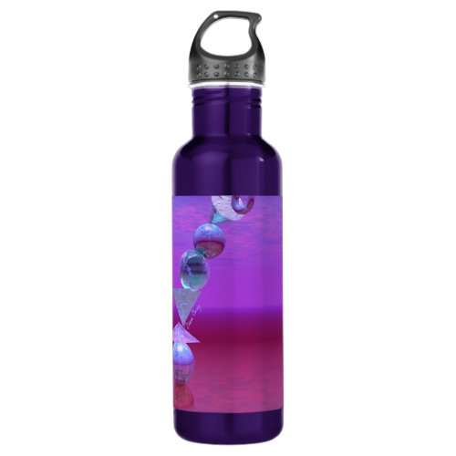 Balancing - Fuchsia and Violet Equilibrium Water Bottle