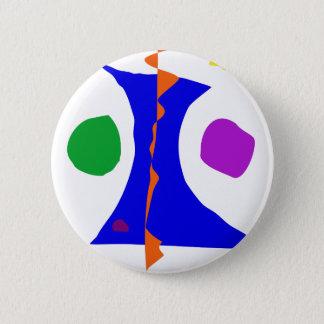 Balancing on Fire Pinback Button
