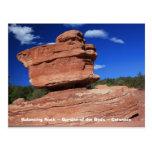 Balancing Rock ~ Colorado Postcard