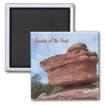 Balancing Rock- Garden of the Gods 2 Inch Square Magnet
