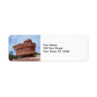 Balancing Rock- Garden of the Gods Label