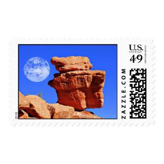 Balancing Rock, Garden of the Gods Stamp