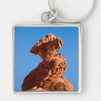 Balancing Rock keychain square