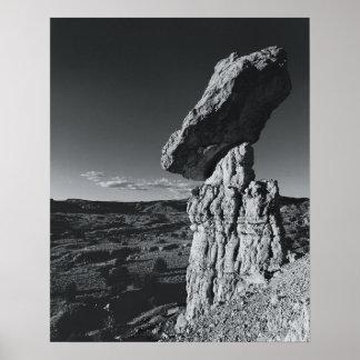 Balancing Rock, New Mexico Poster