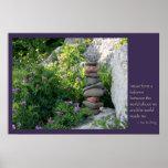 Balancing Rocks (print / canvas) Poster