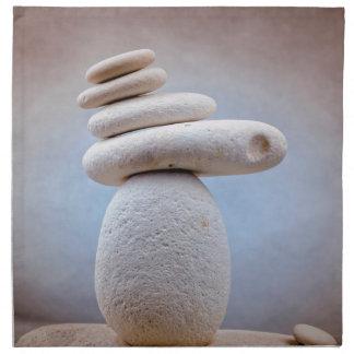 Balancing Stones Square + your ideas Cloth Napkin