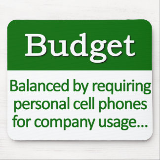 Balancing the Budget Definition Mouse Pad