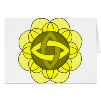 """ Balancing the Solar Plexus Chakra"" Note Card"