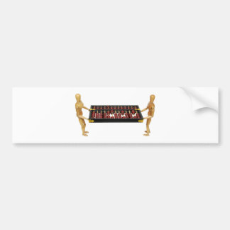 BalancingNumbers061809 Bumper Sticker