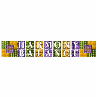 Balanza de la mandala armonía escultura fotográfica