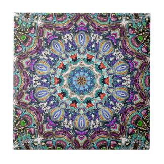 Balanza del color 1 azulejo cuadrado pequeño