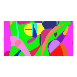 Balanza del color tarjeta fotográfica personalizada