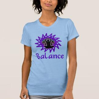 Balanza del de las mujeres Meditación y geometr Camiseta