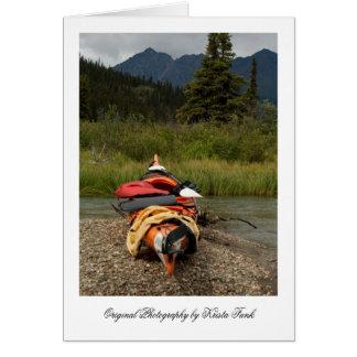 Balanza del kajak tarjeta pequeña