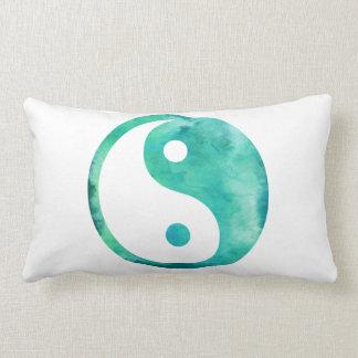 Balanza del Taoism de Yin Yang de la acuarela de Cojín
