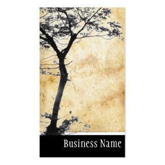 Balanza l fotografía del árbol del zen de la natur tarjetas de visita