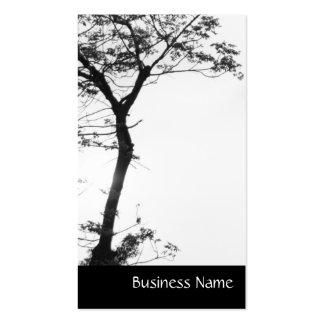 Balanza l fotografía del árbol del zen de la natur plantilla de tarjeta de negocio