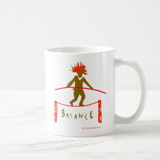 Balanza… que equilibra tazas de café
