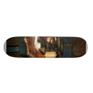 Balanza y alumbre de la cacerola patin personalizado