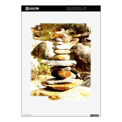 balanza y éxito iPad 2 calcomanía