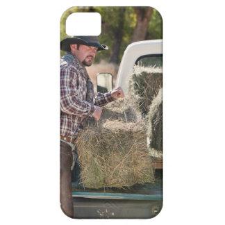 Balas de elevación del vaquero de heno iPhone 5 cárcasa