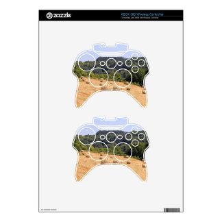 Balas de heno a lo largo del EL Camino, España Mando Xbox 360 Calcomanía