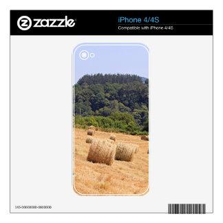 Balas de heno a lo largo del EL Camino, España Skin Para El iPhone 4S