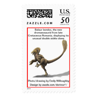 Balaur bondoc, the new dromaeosaurid postage
