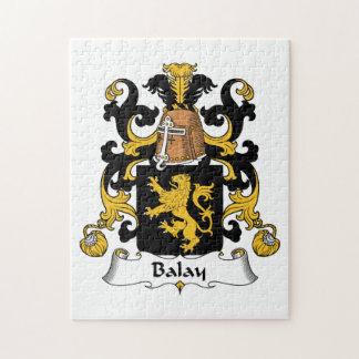 Balay Family Crest Jigsaw Puzzle