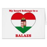 Balazs Greeting Card