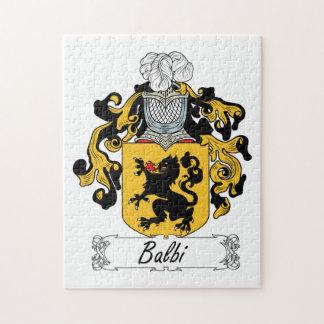 Balbi Family Crest Jigsaw Puzzles