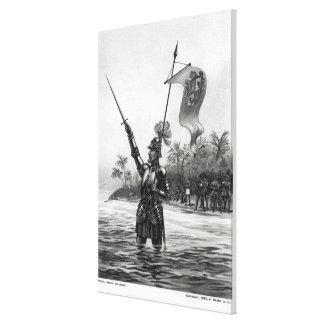 Balboa Claiming Dominion Canvas Print