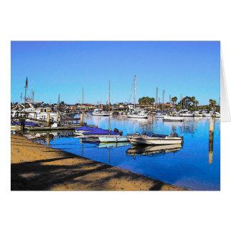 Balboa East Shore Greeting Card