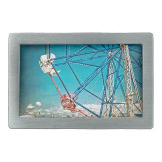 Balboa Ferris Wheel Rectangular Belt Buckles