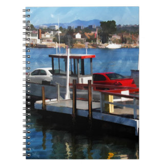 Balboa Ferry Spiral Note Book