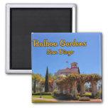 Balboa Garden Activity Center San Diego California 2 Inch Square Magnet